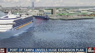 Port of Tampa unveils huge expansion plan - Video