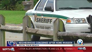 Royal Palm Beach neighborhood on edge after recent home invasion - Video