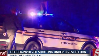 Suspect Dead In Officer-Involved Shooting - Video