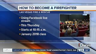 Las Vegas Fire & Rescue looking for firefighters