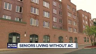 Seniors living without air conditioning