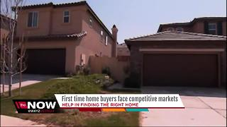 First time buyers face competitive home market