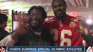 Chiefs surprise Special Olympic athletes at Arrowhead Stadium