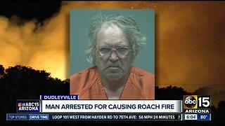 Man arrested after Roach Fire - Video