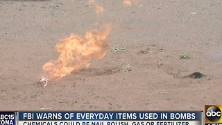 Deadly mixture of chemicals, that are easy to find, pose threat to community - Video