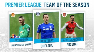 Premier League Team of the Season 2014-2015 - Video