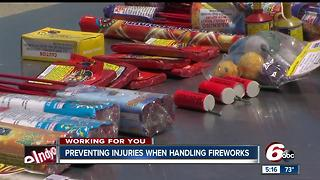 Preventing injuries when handling fireworks - Video
