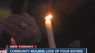 Vigils held for four Flora sisters killed in fire - Video