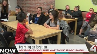 Independence school raises money to sends students to Italy - Video
