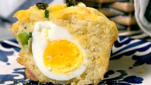 Surprise Egg Muffins