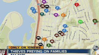 Thieves preying on families - Video