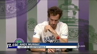 'Male player!' Andy Murray corrects reporter at Wimbledon - Video