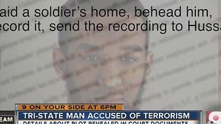 New documents shed disturbing light on man accused of terrorism - Video