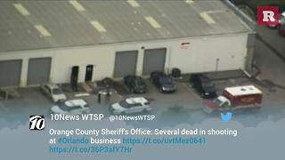 Police confirm multiple fatalities after a shooter opened fire at a Florida business | Rare News - Video