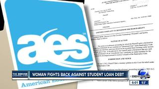 Colorado woman fights student loan debt as some might get forgiven - Video
