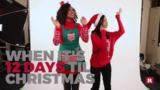 Generation Gap's countdown to Christmas: 12 Days - Video