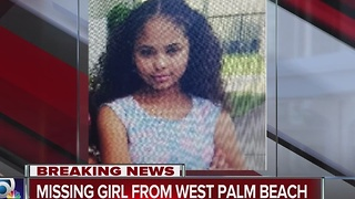 West Palm Beach Police search for missing child - Video