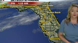Rain Chances and a Big Cool Down Coming - Video