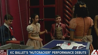KC Ballet's 'Nutcracker' performance debuts - Video