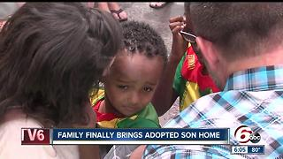 Anderson family finally brings adopted son home from Ethiopia - Video