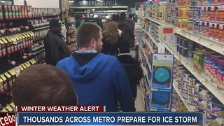 Kansas City prepares for weekend ice storm - Video