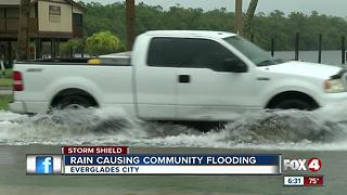 More rain brings more flooding to Everglades City - Video
