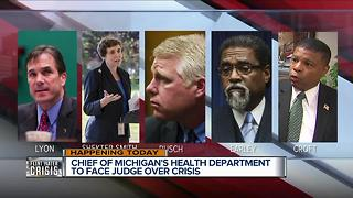 Michigan health chief to face judge in Flint water crisis