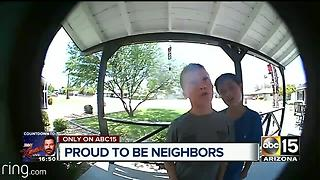 Adorable video: Boys knock on doors trying to wash cars for extra money - Video