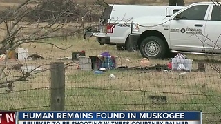 TPD find human remains next to abandoned home - Video
