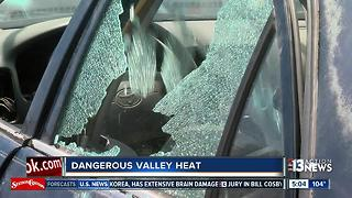 How far you can legally go to rescue a child in danger in a hot car - Video