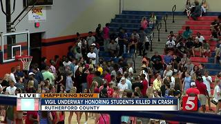 Vigil Honors Students Killed In Crash - Video