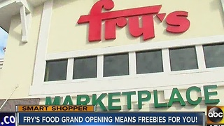 Fry's celebrating new location's opening with free gift cards - Video