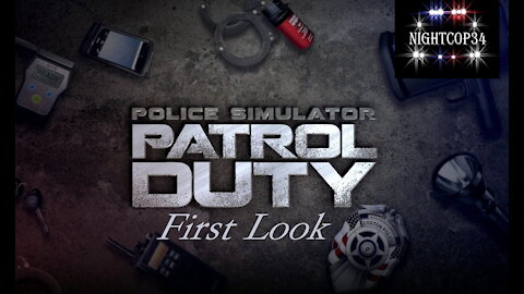 Highlight: Police Simulator | First Look | Back In Uniform