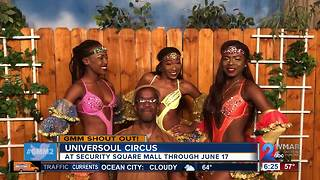 Good morning from the Universoul Circus!