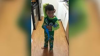 Little Boy Gets Upset Because He Can't Find Cupcakes