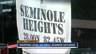 Small business Saturday - Video