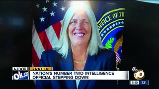 Nation's number two intel official stepping down