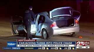 Carjacking turns into police chase