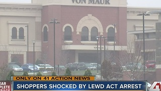 KCK man caught exposing himself outside Von Maur at Corbin Park - Video