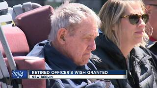 Retired Officer's Wish Granted - Video