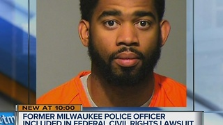 Officer charged in man's death faces new lawsuit - Video