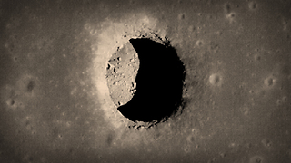 The pits on the moon might lead to caves big enough to fit cities, but how were they formed? - Video
