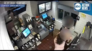 Police: Woman choked McDonald's manager over ketchup
