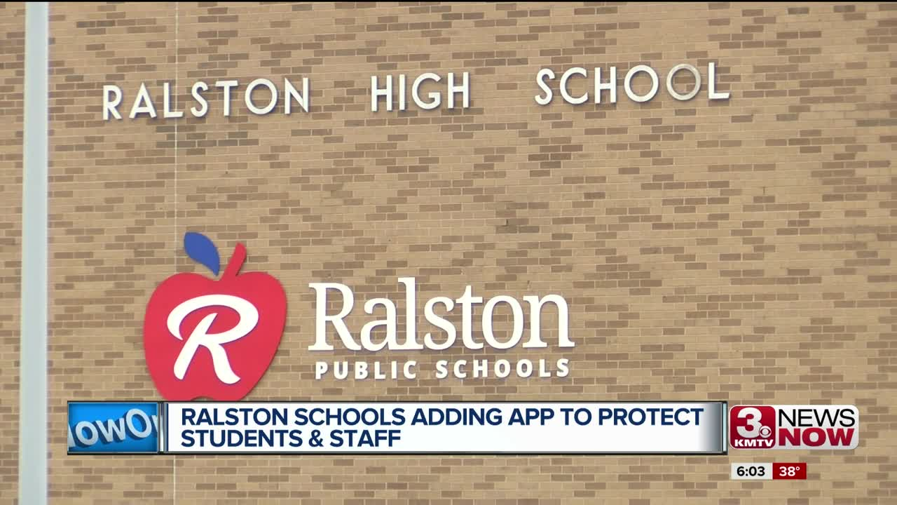 Ralston Schools adding app to protect students & staff