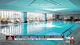 CDC issues warning on hotel swimming pools - Video