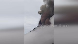 Guatemala's fuego volcano erupts killing at least 25 - Video