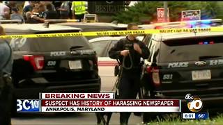 Suspected Annapolis shooter identified - Video