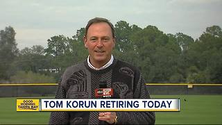 Longtime sportscaster Tom Korun retires from ABC Action News - Video