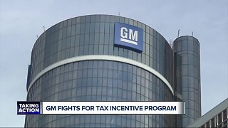 General Motors fighting to retain tax incentives after news of plant closures