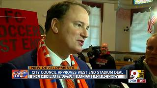 City council approves West End stadium deal - Video